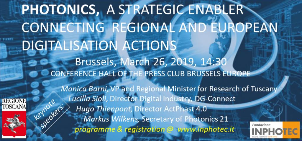 Fotonica e nuove frontiere della digitalizzazione europea