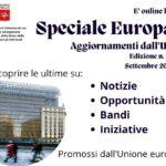 """È online l'edizione n.28 dello """"Speciale Europa – Aggiornamenti dall'UE"""""""
